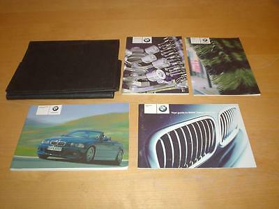 BMW M3 3 SERIES E46 CABRIOLET CONVERTIBLE Owners Handbook Manual Wallet Book