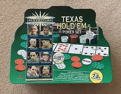 Texas Hold'em Poker Set - BNWOT Never Used