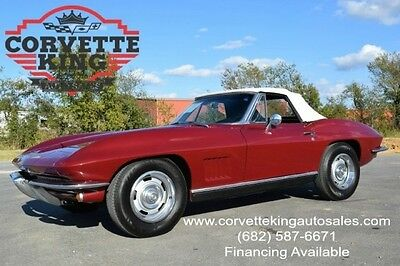 1967 Chevrolet Corvette  1967 Chevrolet Convertible Stingray