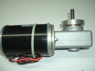 12V DC Electric Right Angle Reversible Worm Gear Motor High Output