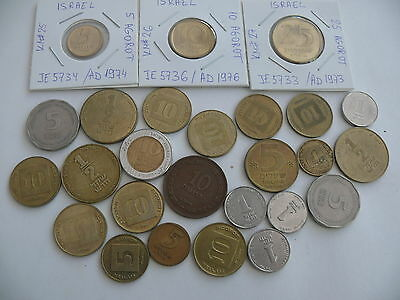 Some random coins from Israel