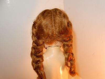 Ideal Saucy Walker Doll Vintage Doll Head Mint Hair Braids 1950S For Parts