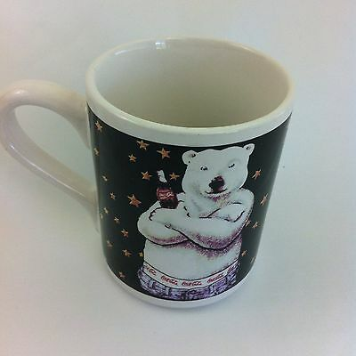 Coca-Cola Polar Bear Mug by Gibson / Cup With Bear in Jeans