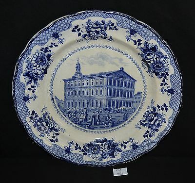 ThriftCHI ~ Buffalo Pottery Collectors Plate - Faneuil Hall, Boston