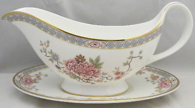 Royal Doulton Canton Gravy Boat & Underplate