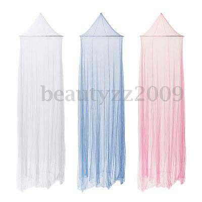Round Mosquito Net Bed Canopy Netting Fly Insect Protection Bed Curtain Dome HOT
