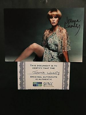 Joanna Lumley hand signed 6x4 photo of actress, model & presenter
