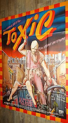 TOXIC  the toxic avenger ! affiche cinema horreur gore