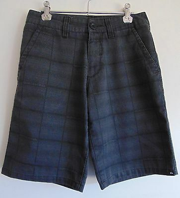 Quiksilver * Boys Size 12 Grey Casual Style Surf Shorts * Excellent Condition