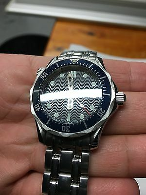 Omega Seamaster Diver Men's Watch Steel Top Condition