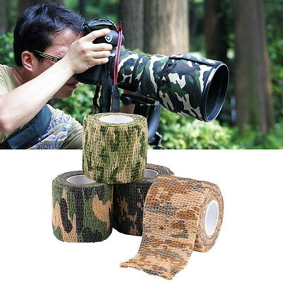 4.5M Army Camo Wrap Rifle Gun Shooting Hunting Camouflage Webbing Tape Firm AU