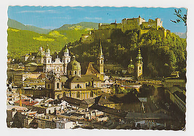 Postcard Austria Salzburg 69 Town of Prince Archbishops Real Photo Art Card
