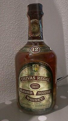 Chivas Regal Blended Scotch Whisky 12 Years Old  75 Cl 43°