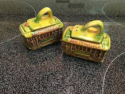 San Francisco Trolley Salt and Pepper Shakers
