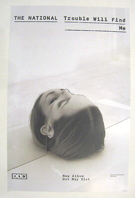 The National Trouble Will Find Me PROMO poster New Limited Edition