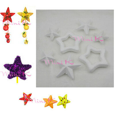 Handmade Foam Star Polystyrene Styrofoam DIY New Decorations Party Accessory