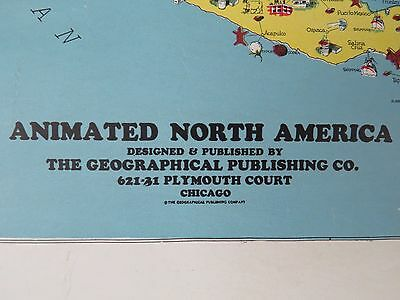 VTG World Geographical Publishing Wall Classroom Map Aviation Airplane WW2