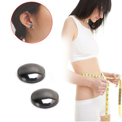 1Pair Weight Loss Earrings Healthy Stimulating Acupoints Stud Magnetic Therapy