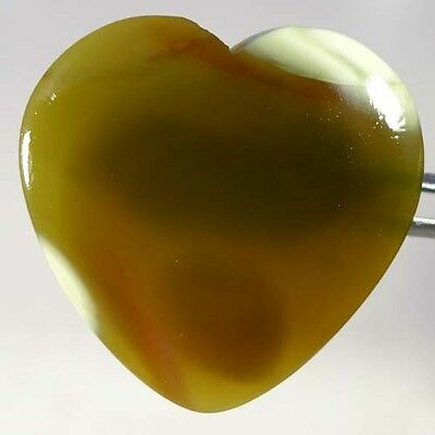 37.00Cts. Natural Imperial Jasper Heart Cabochon Mind Blowing Loose Gemstones