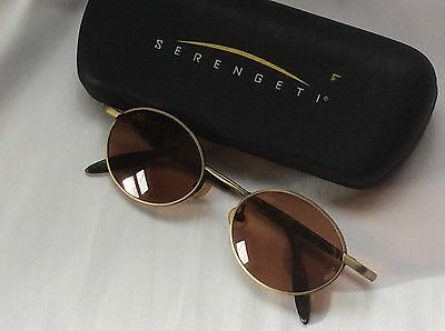 VINTAGE $199 SERENGETI RHYTHM N BLUES CORNING OPTICS Drivers SUNGLASSES 6338