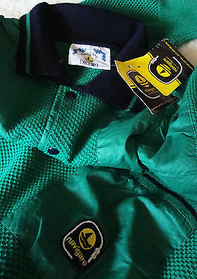 SWEATER vintage 80's  NAVIGARE  tg.6 -XL made Italy NEW!