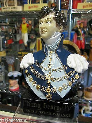 King George Scotch Advertising Bust In Near Perfect Condition