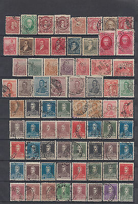 Argentina 1888-1940, nice lot with early issues and letters, mh and used