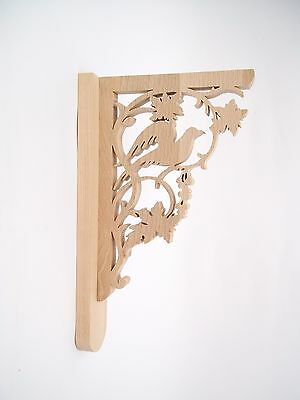 WOOD SHELF BRACKETS Wooden Corbels Victorian