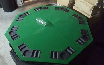 4 large poker tables tops