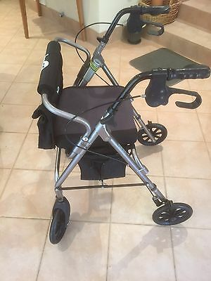 Hugo Mobility Walker With Seat & Storage Compartments