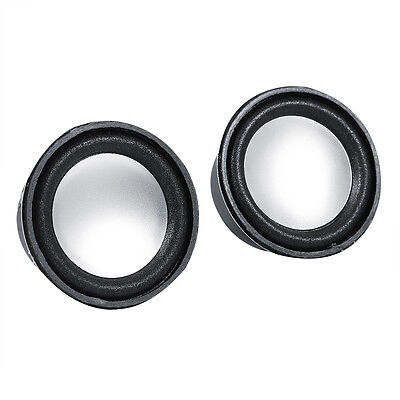 "2pcs 52mm 2"" inch 4Ohm 4Ω 3W Low Distortion Audio Speaker Stereo Loudspeaker"