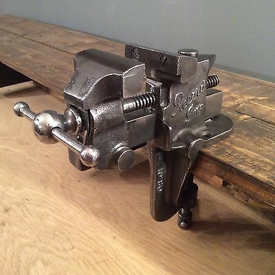 VINTAGE RECORD IMP No 80 BENCH VICE. MADE IN ENGLAND.