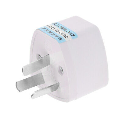 Universal 3-prong AC Travel Power Plug Adapter for UK/US/EU/AU Convert to AU