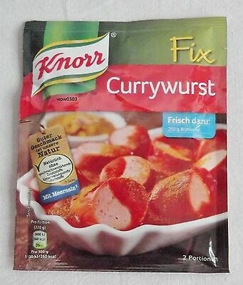 5 x Knorr Fix - Curry sausage