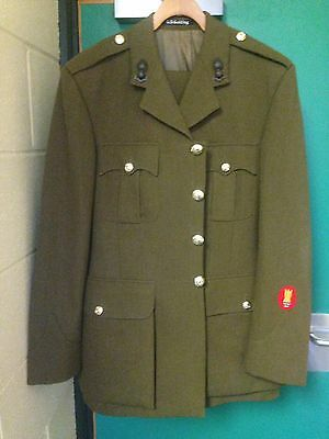 British Army Royal Engineers Officers Service Dress No 2