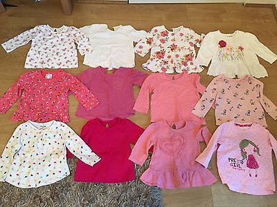 Girls 6-9 Months Long Sleeved Tops Bundle
