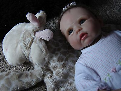 "Olivias gentle touch baby doll Ashton Drake 21"" interactive"
