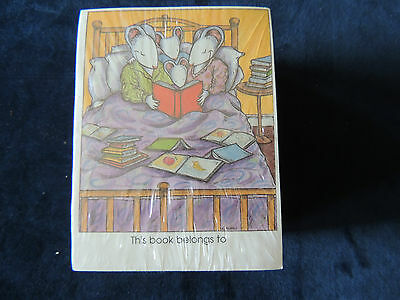 Vintage Antioch Bookplates 40 ~THIS BOOK BELONGS TO ~
