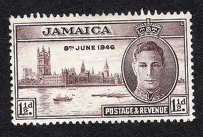 1946 Jamaica 1.5d Brown Victory SG141a MOUNTED MINT R17565