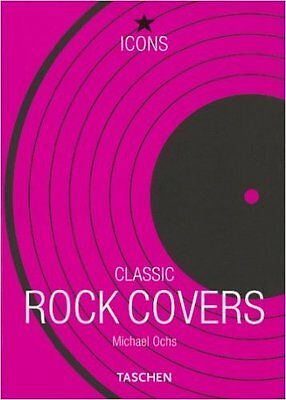 Taschen Classic Rock Covers Music Art Book Michael Ochs