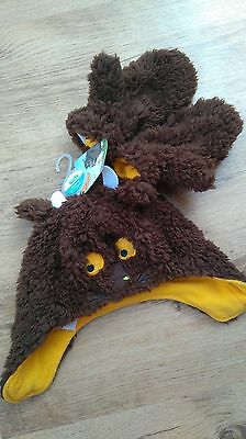 Bnwt Gruffalo Hat And Mitts Set Size 5-7 Years