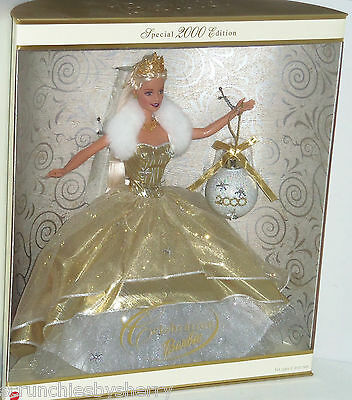 2000 Celebration Barbie Doll Holiday NRFB Vintage Retired Collectible Ornament