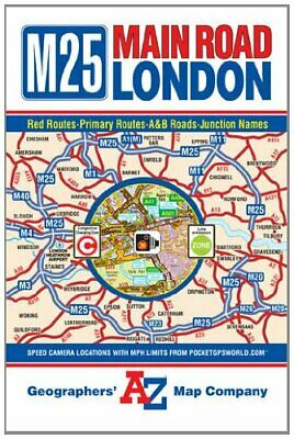 Main Road Map of London by Geographers A-Z Map Company Sheet map, folded Book