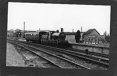 SR loco No. 31064 at HEADCORN JUNCTION STATION in 53-Proper R/P-P/C glossy photo