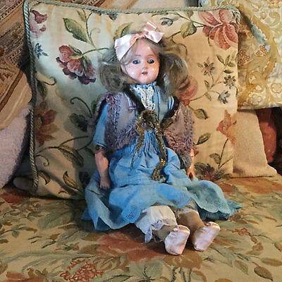 Antique german doll leather limbs
