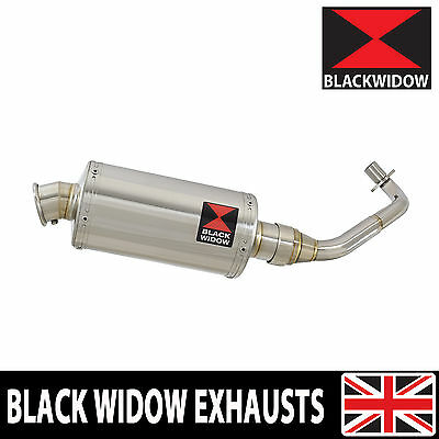 Piaggio Vespa ET4 125 1996-2005 Exhaust System Oval Stainless Silencer 230SS