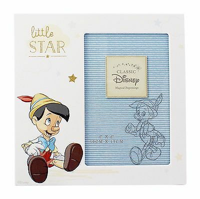 Pinocchio Little Star Photo Frame Disney Magical Beginnings Collection