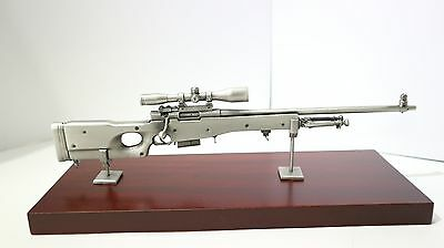 Accuracy International L96 Rifle Pewter model Gift AI display ornament