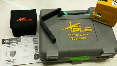 PACIFIC LASER SYSTEMS PLS180 GREEN Level   PLS-60596 crossline