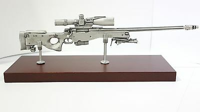 Accuracy International L115A3 Rifle Pewter model Gift AI display ornament